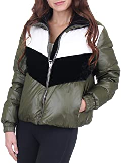 Marc New York Bedford Women's Chevron Down Insulation Winter Puffer Coat