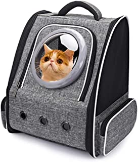 BMX Pet Carrier Backpack Airline Approved Space Capsule Design Travel Bubble Bag Multiple Vents Lightweight Portable Handbag Suitable for Cat and Dog
