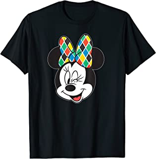 Disney Arlecchino Minnie Mouse Wink Italian Carnival T-Shirt