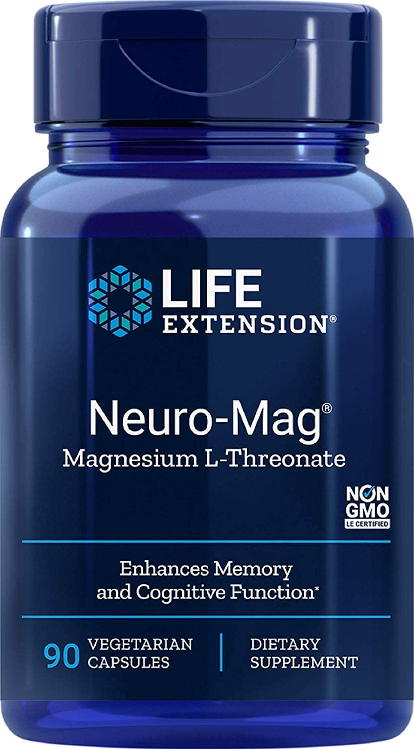Life Extension - Neuro-Mag Supple L-Threonate Dietary Magnesium sold New life out