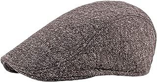 BESBOMIG Men's Flat Cap Newsboy Ivy Cabbie Hat Beret Waterproof Breathable Sun Hats Fishing Beach Golf for Women 55-60cm