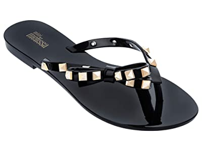 Mini Melissa Harmonic Studs INF (Little Kid/Big Kid) (Black/Gold) Girl