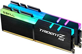 G.Skill TridentZ RGB Series 16GB (2 x 8GB) 288-Pin DDR4 3600MHz (PC4 28800) Desktop Memory Model F4-3600C16D-16GTZR