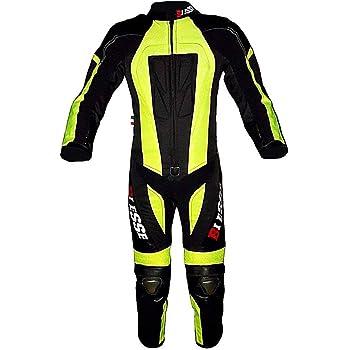 Verde 5-6 Anni S Leopard Tuta da Motocross per Bambini Proteggere Abbigliamento Giacca da Moto ATV Quadrilatero