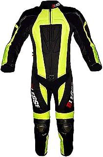 HINK Tuta Sportiva Anti-Caduta per Armatura da Motociclista Nera da Uomo E da Donna,Giacca da Motocicletta per Armatura Completa Giacca da Motocross da Corsa