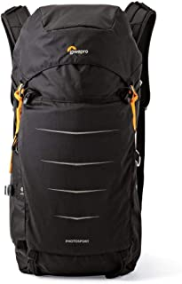 Lowepro Photo Sport Bp 300 AW II, Two Passions One Pack This Next-Generation Design is Built to Help You Go Fast and Light, Black, (LP36890-PWW)