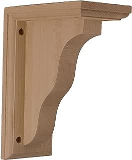 Ekena Millwork BKT03X07X09HARW Wood Bracket, 3 1/2