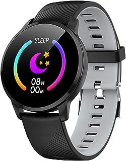 SmartWatch Reloj Inteligente, Actividad FíSica Fatiga del SueñO Frecuencia CardíAca Deportes Reloj Inteligente Deportivo La Compatible con iOS Android
