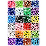 24 Style Evil Eye beads, Evil Eye beads for Jewelry...