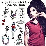 Amy Winehouse Temporary Tattoos (P-9039)