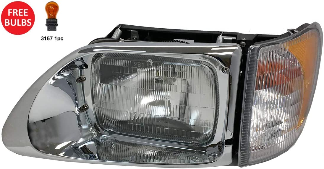 Headlight with CORNER LAMP - Driver Side (Fit: International 920