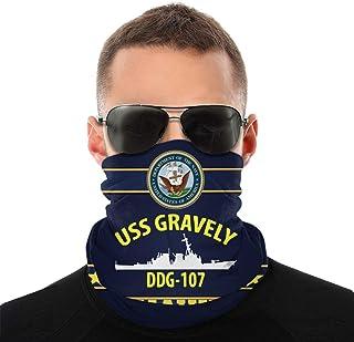 Nother USS Gravely Ddg107 Anime män utomhus multifunktionell variation huvudscarf vindtät ansiktsmask