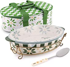 Temptations 3-Liter Old World Pack-N-Go Bakeware Set- Green