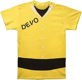 Devo - Duty Now (Slim fit) T-Shirt (Size S) Yellow