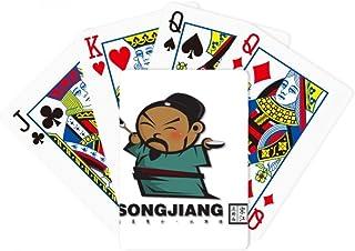 The Outlaws Of Marsh Songjiang Drawing Poker Playing Magic Card Fun Board Game