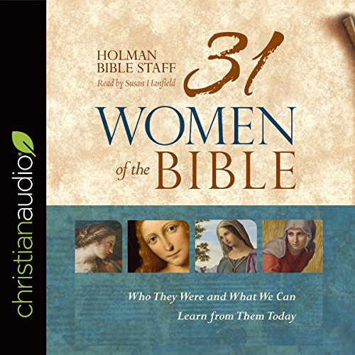 31 Women of the Bible audiobook cover art