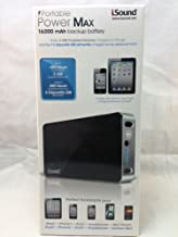 i.Sound Portable Power Max 16000mah Extended Backup Battery DGIPAD-4544