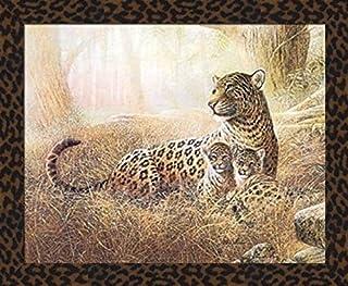 Details about  /Contemporary Bold CMYK Cheetah Art Print Framed Poster Wall Decor