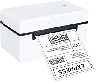 Desktop Thermal Label Printer for 4x6 Shipping Package All in One Label Maker 180mm/s High Speed USB&BT Connection Thermal...