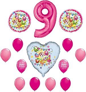 SHOPKINS 9th Ninth BIRTHDAY PARTY Balloons Decorations Supplie