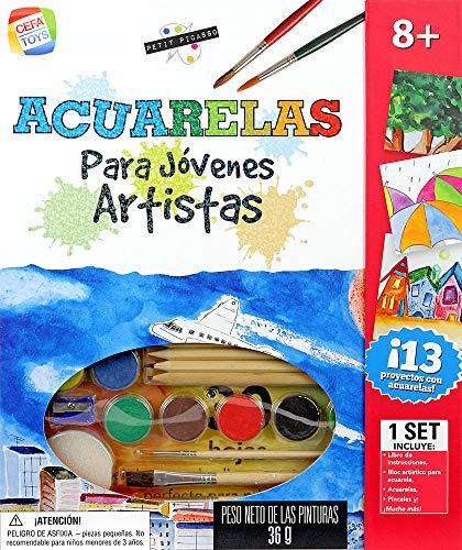 Cefa Toys Jovenes Artistas, Petit Picasso Pintura con Acuare