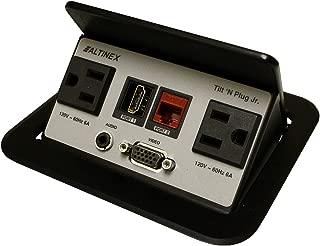 Altinex Tilt N Plug Hybrid **TNP-328** Power Data Center - HDMI, VGA, Audio, RJ45, 2 x AC Power
