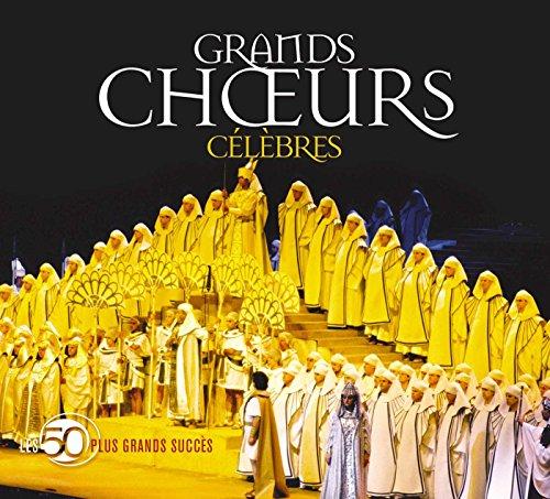 Les 50 Plus Grands Succès : Grands choeurs (Coffret 3 CD)