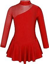 Damen Eiskunstlauf Kleid Kürkleid Trainingskleid Eiskunstlaufkleid Tanzkleid