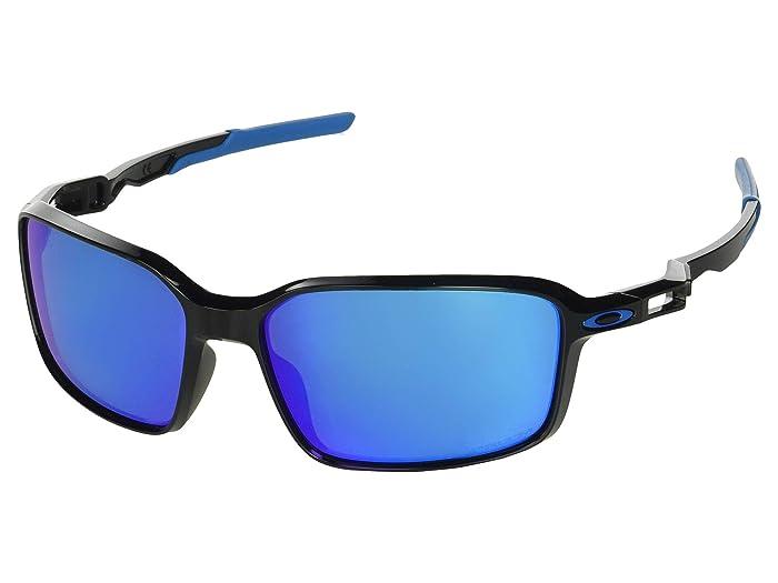 Oakley Siphon (Polished Black/Prizm Sapphire) Sport Sunglasses