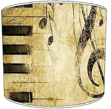 Premier Lighting Ltd 10 inch Classical la Musique Print abat-jour16 pour Un plafonnier
