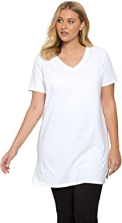 Women's Plus Size V-Neck Maxi Tunic