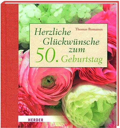 Herzliche Glückwünsche zum 50. Geburtstag
