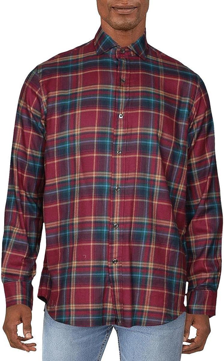Polo Ralph Lauren Mens Cotton Classic Fit Button-Down Shirt