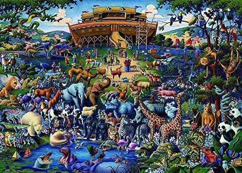 Blanriguelo Puzzle 1000 stück Puzzle Erwachsene NOAH ARK Erwachsene Kinder geschicklichkeitsspiel Puzzle unmögliche sehr