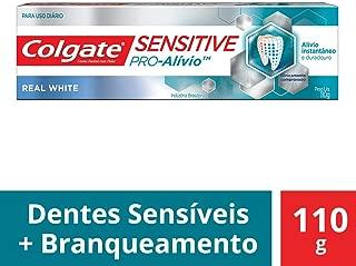 Creme Dental Colgate Sensitive Pro-Alívio Real White 110g