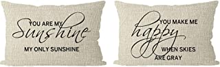 2 pack color me pillow set