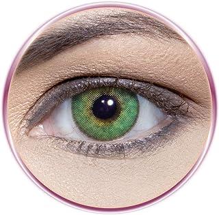 Solotica Solflex Esmeralda Unisex Contact Lenses, Solotica Cosmetic Contact Lenses, Monthly Disposable- Esmeralda Color (E...