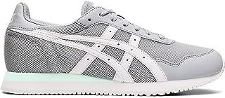 Tiger Women's Tiger Runner Shoes, 6M, Piedmont Grey/White