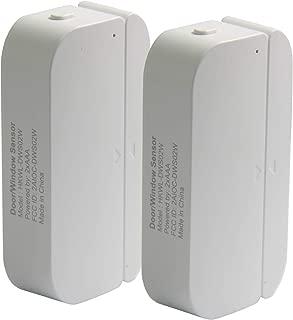 Smart Door and Windows Sensor WiFi Door Open Alarm Phone APP Alert for Personal Security,Home Automation Doorbell Compatible with Alexa Google Home IFTTT,Wireless Battery Operated Door Chime(2 Pack)