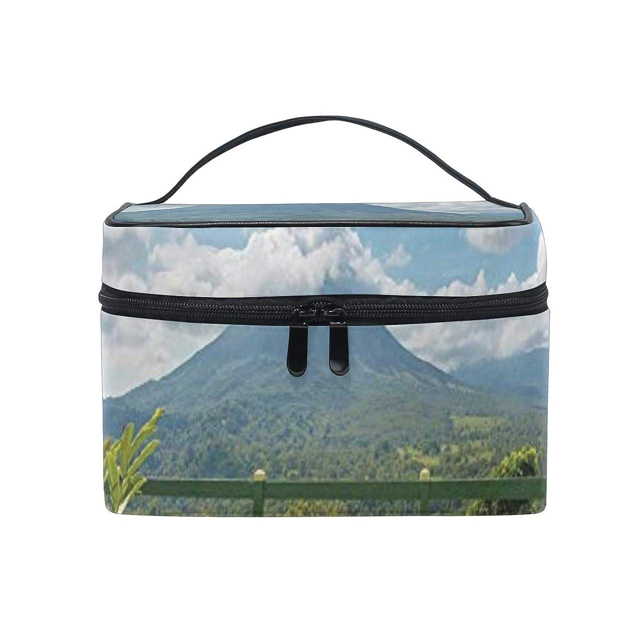 正確不毛の酔った三郎の市場 火山 メイクボックス プロ用 メイクポーチ 化粧ポーチ 高品質 多機能 大容量 旅行用