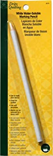 Dritz 3079 Water Soluble Marking Pencil, White