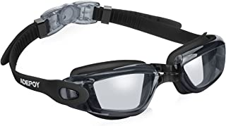 adepoy Swim Goggles, No Leaking Anti Fog UV Protection...