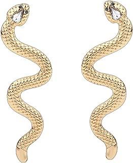 long drop earrings gold
