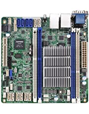 ASRock Intel Avoton C2750 2.4GHz/DDR3/SATA3/V&2GbE/Mini-ITX Motherboard and CPU Combo C2750D4I COLOR BOX by ASRock [並行輸入品]