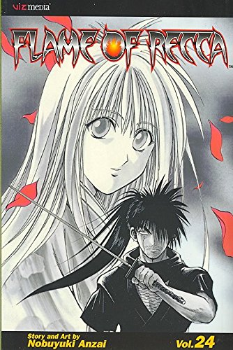 [Flame of Recca: v. 24] (By: Nobuyuki Anzai) [published: April, 2010]