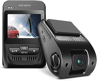 rock space ドライブレコーダー 小型 2.3インチ LCD液晶 1080P 高画質 フルHD Gセンサー 衝撃感知 150°広角レンズ WDR サイクル録画 逆光補正機能 カーレコーダー