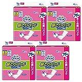 アテント 尿とりパッド スーパー吸収 2回分 76枚x4パック 女性用 304枚入