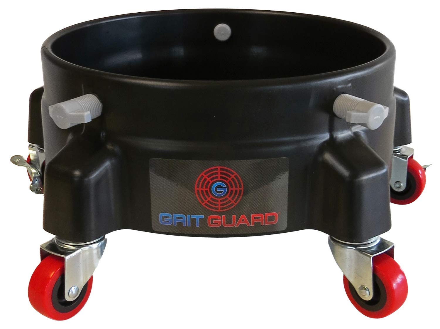 GRIT GUARD - Bucket Dolly With 5 B Recommendation Casters gift Wheels 2 Locking and