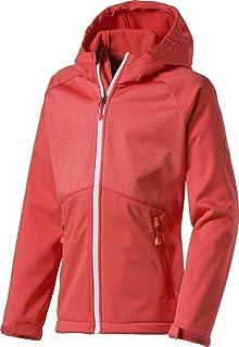McKinley fille loisirs randonnée Capuche Polaire Choco III chiné rose