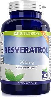 Nutrissence Resveratrol 500mg 180 Capsules